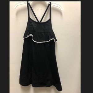 Old navy black dress 2T one time use